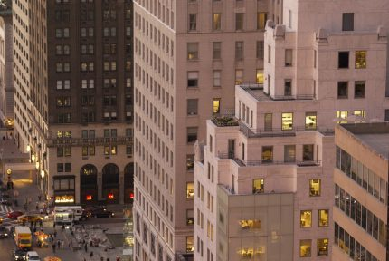 59th Street and Fifth Avenue from rooftop, 700 Fifth Avenue