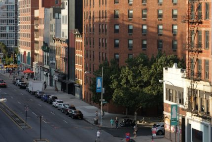 Bowery from rooftop, The Bowery House Hotel