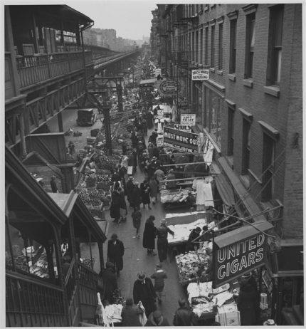 Scene on Ninth Avenue, 1932