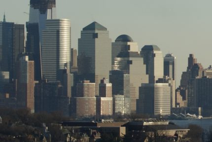 Downtown Manhattan from Cliff Street & Mountain Road, Union City, NJ