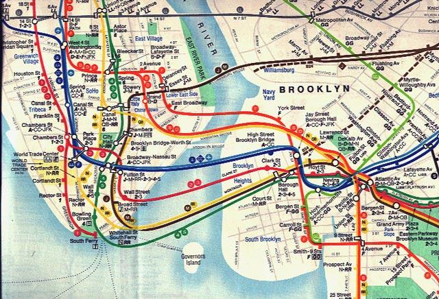 1979 NYC Subway Map