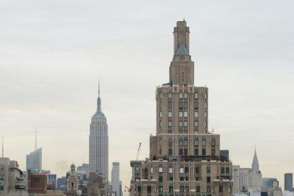 1 Fifth Avenue from 10th floor, NYU Kimmmel Center