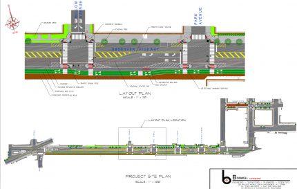 Observer & Newark Project Site Plan