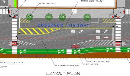 Observer Boulevard Site Plan