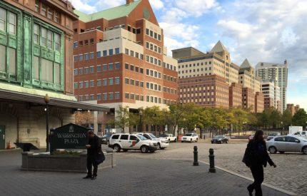 Warrington Plaza, Hoboken Terminal, 2014