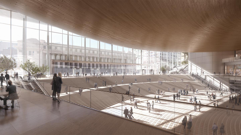 Penn Station Entrance Concept
