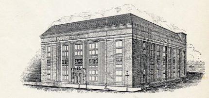 Hoboken Post Office, 1933 Dedication Ceremony Program