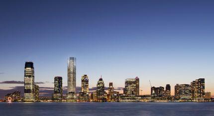 99 Hudson Jersey City skyline