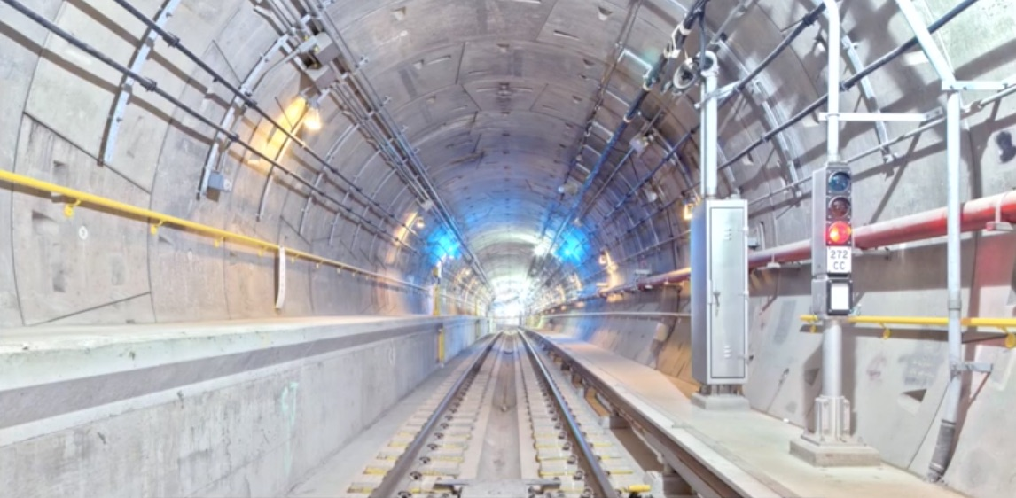 7 Extension - 34 St Hudson Yards tunnel