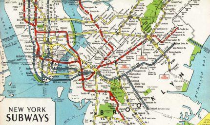 1944 board of transportation map