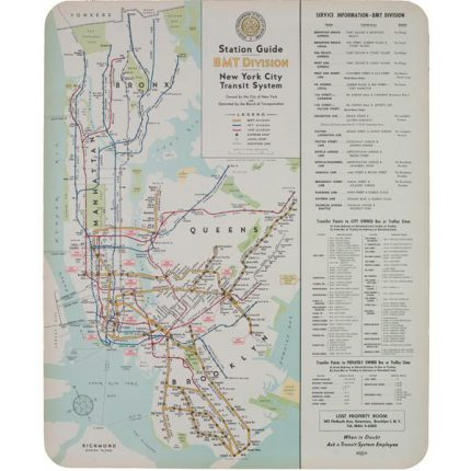 1948 nyct bmt division map