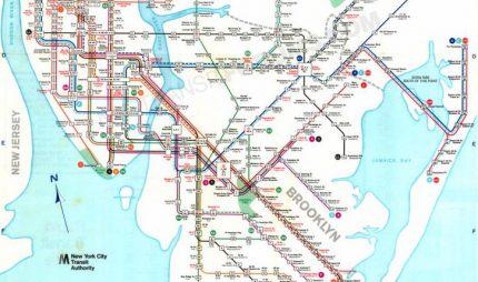 1969 nycta map