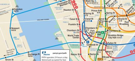 Subway NY NJ: PATH on the NYC Subway Map