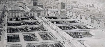 Terminal City - 1910 Artist's Conception