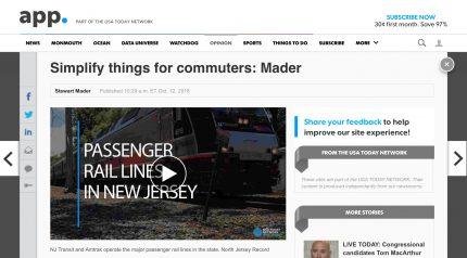 Passenger rail lines are the backbone of a vibrant economy. (Video: Danielle Parhizkaran & Mike Pettigano/NorthJersey.com)