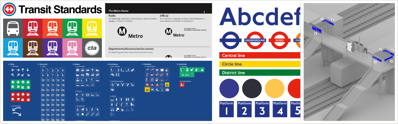 Transit Standards: Branding, Digital Strategy & Graphic Standards for Public Transportation